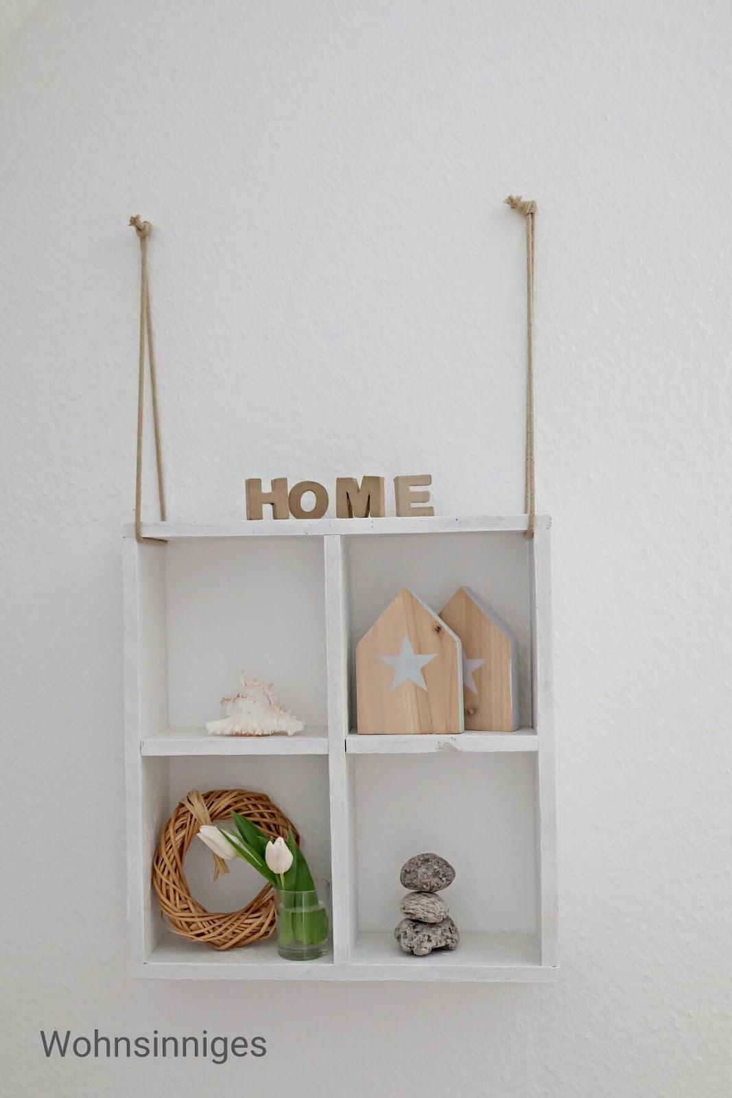 WOHNSINNIGES: Hängeregal DIY