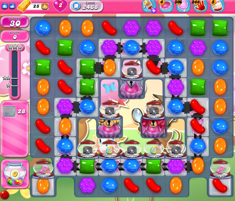 Candy Crush Saga level 2468
