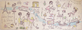 ilustração de Paris