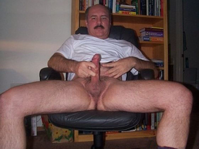 stocky naked men