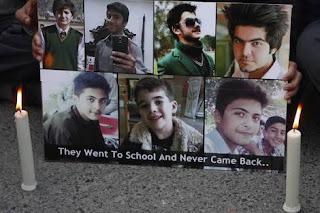 In the Memory of Martyrs of APS Peshawar