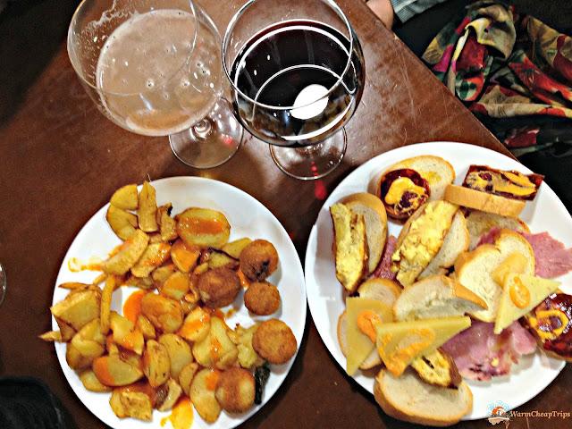 tapas y cerveza, tapas, el tigre madrid, tapas e birra, Madrid, dove mangiare a madrid, churros, jamon, montaditos, bocadillo de calamares, cibo a madrid, piatti spagnoli