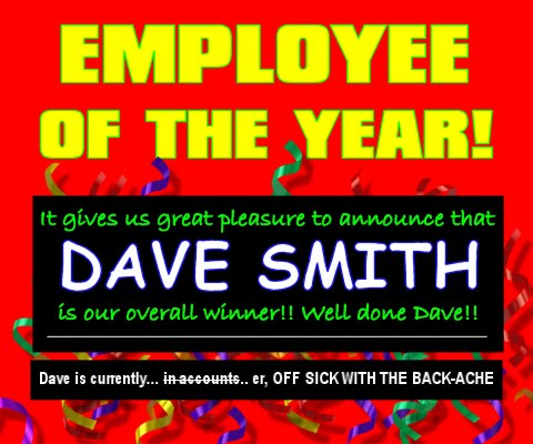 Employee of the Year Competition