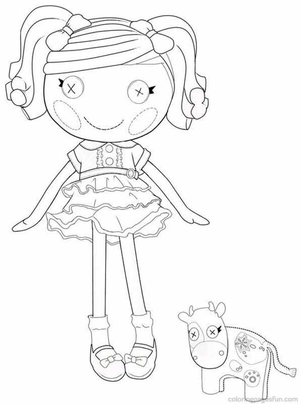 Lalaloopsy coloring a bunch of sweet coloring pages for Lalaloopsy littles coloring pages