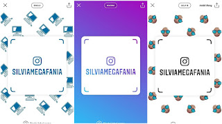 Cara Membuat Name Tags / Label Nama Di Instagram
