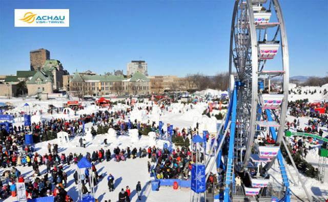 Lễ hội mùa đông ở Canada