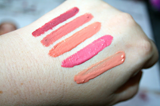 Revlon Kiss Plumping Lip Creme Swatches