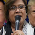 De Lima hoping for a Hillary win: 'We don't need another misogynistic global leader'