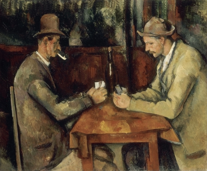 I giocatori di carte - Paul Cezanne, pittore post-impressionista