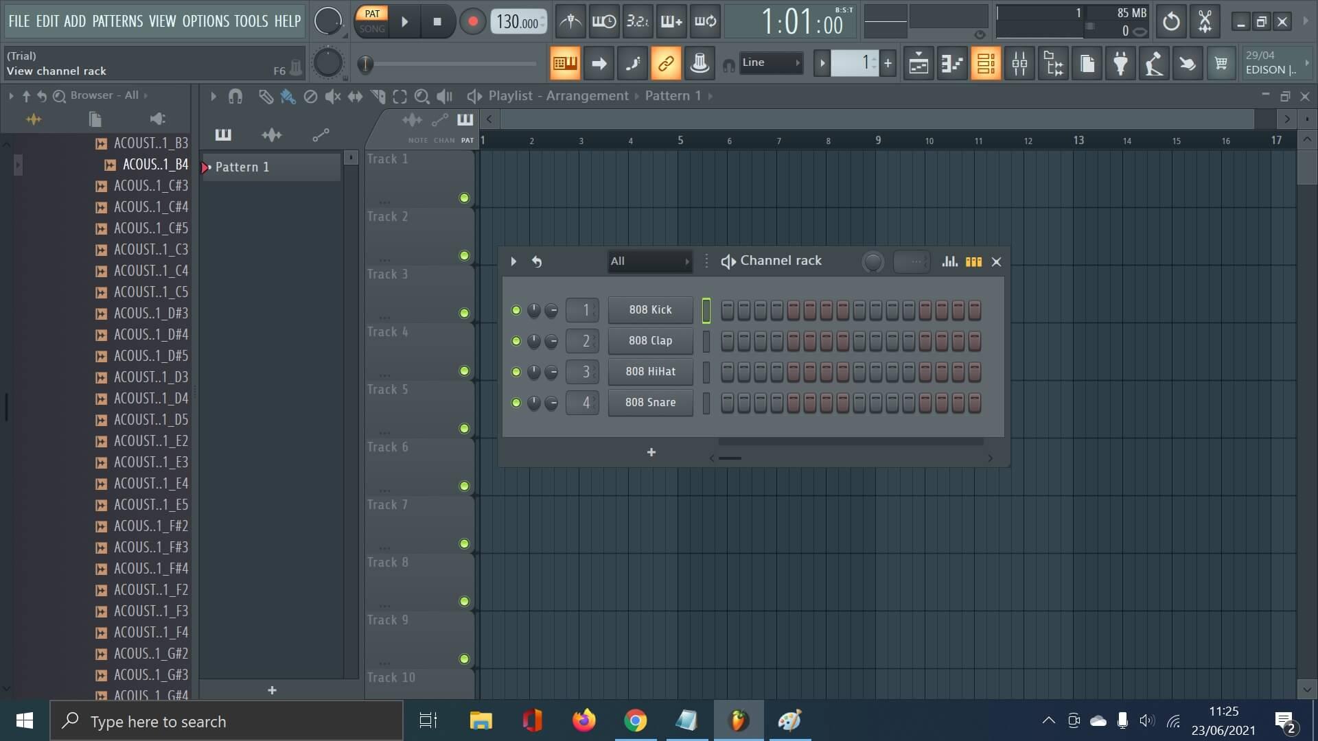chanel rack FL Studio 20 kakangnurdin.com