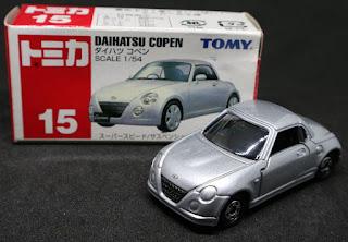 Tomica - 15 DAIHATSU COPEN