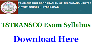 TSTRANSCO AE syllabus PDF Download AE Civil Electrical and Telecom Syllabus PDF