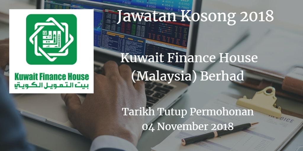 Jawatan Kosong KFH 04 November 2018