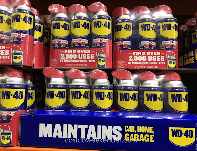 Every gear head should have WD-40 handy in his/her garage