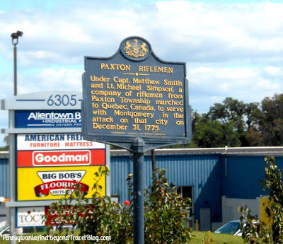 Paxton Riflemen Historical Marker in Harrisburg