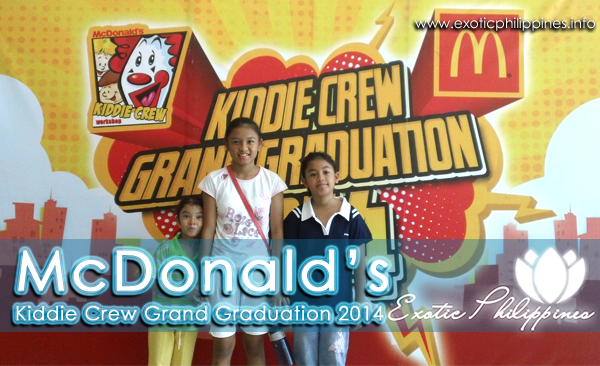 McDonalds Kiddie Crew Grand Graduation in Cebu 2014