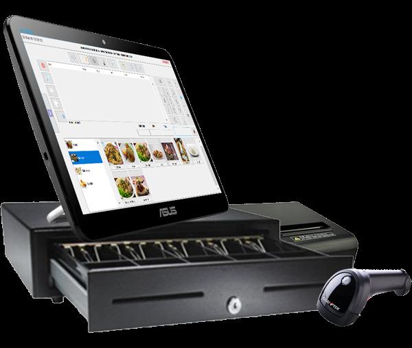 mesin kasi touchscreen