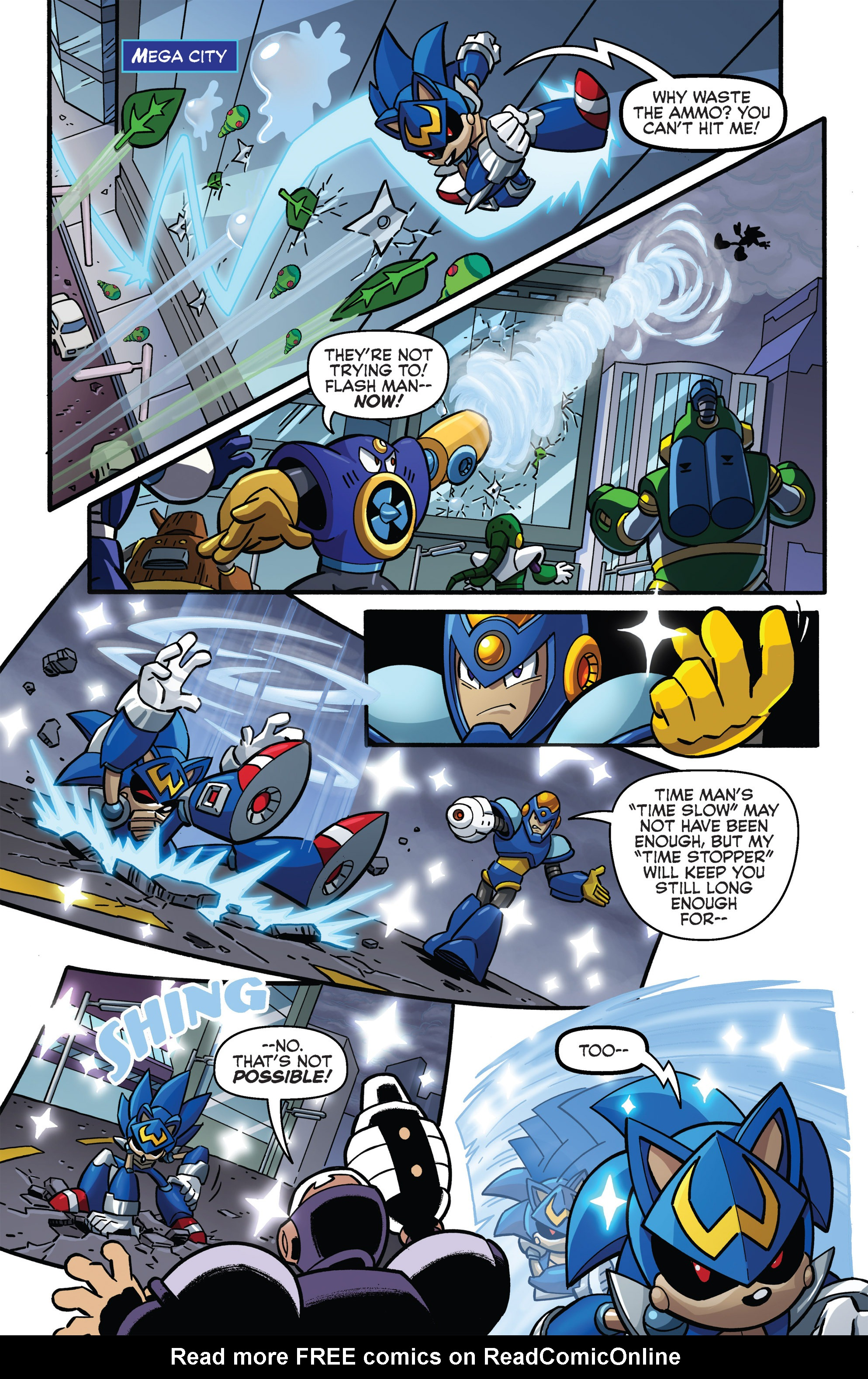 Read online Sonic The Hedgehog comic -  Issue #273 - 10