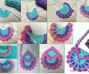 Cómo tejer bolsa de niña al crochet / DIY