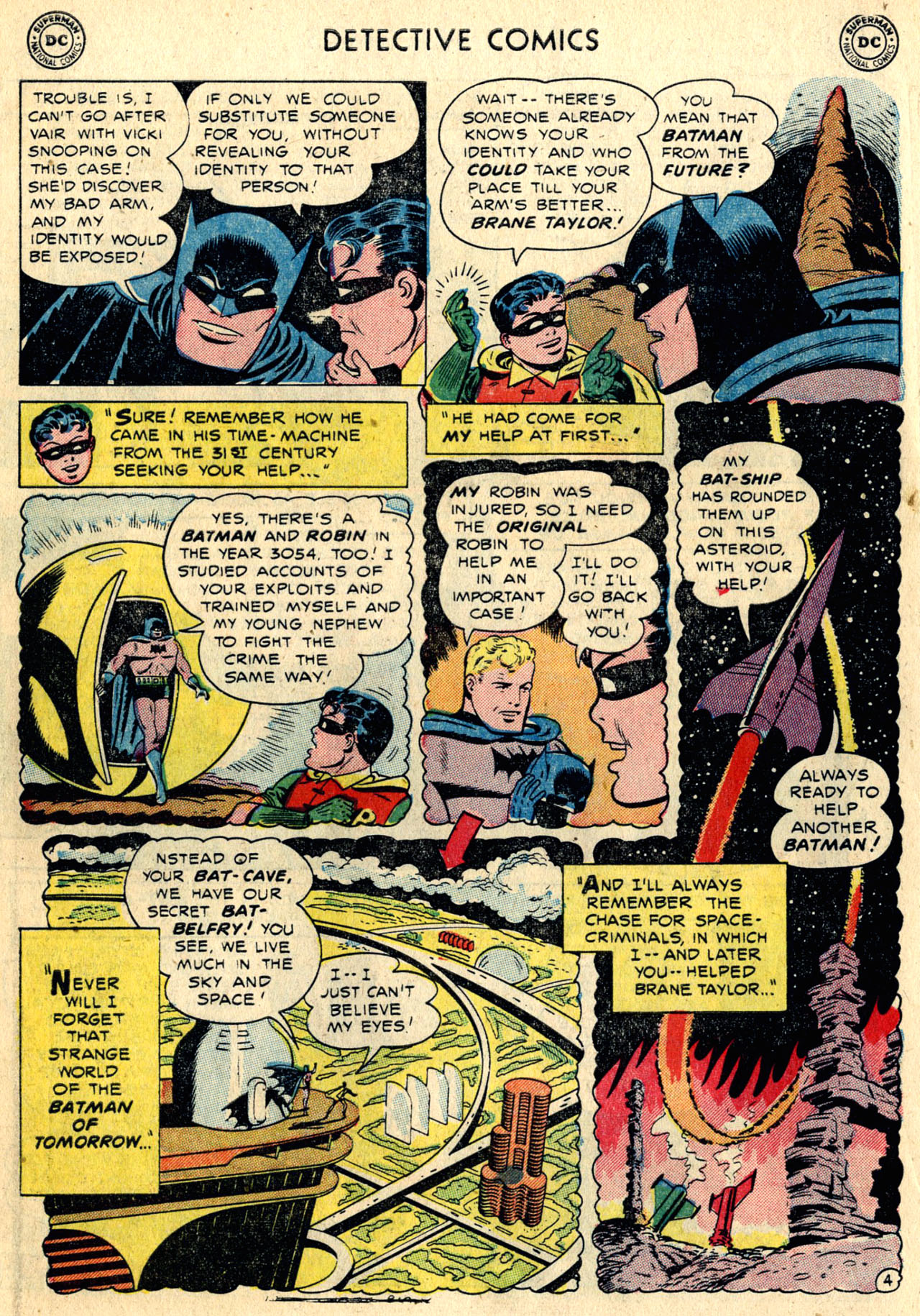 Read online Detective Comics (1937) comic -  Issue #216 - 6