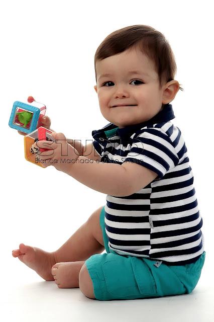fotografias em estudio do bebe