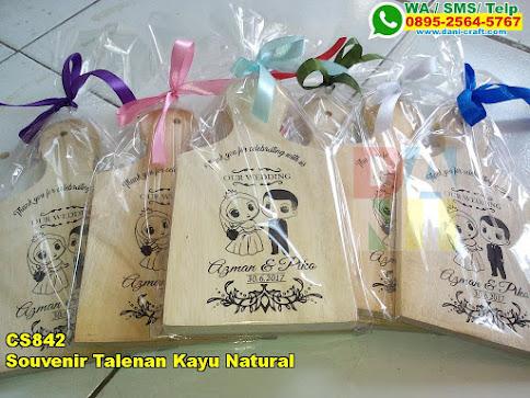 Harga Souvenir Talenan Kayu Natural