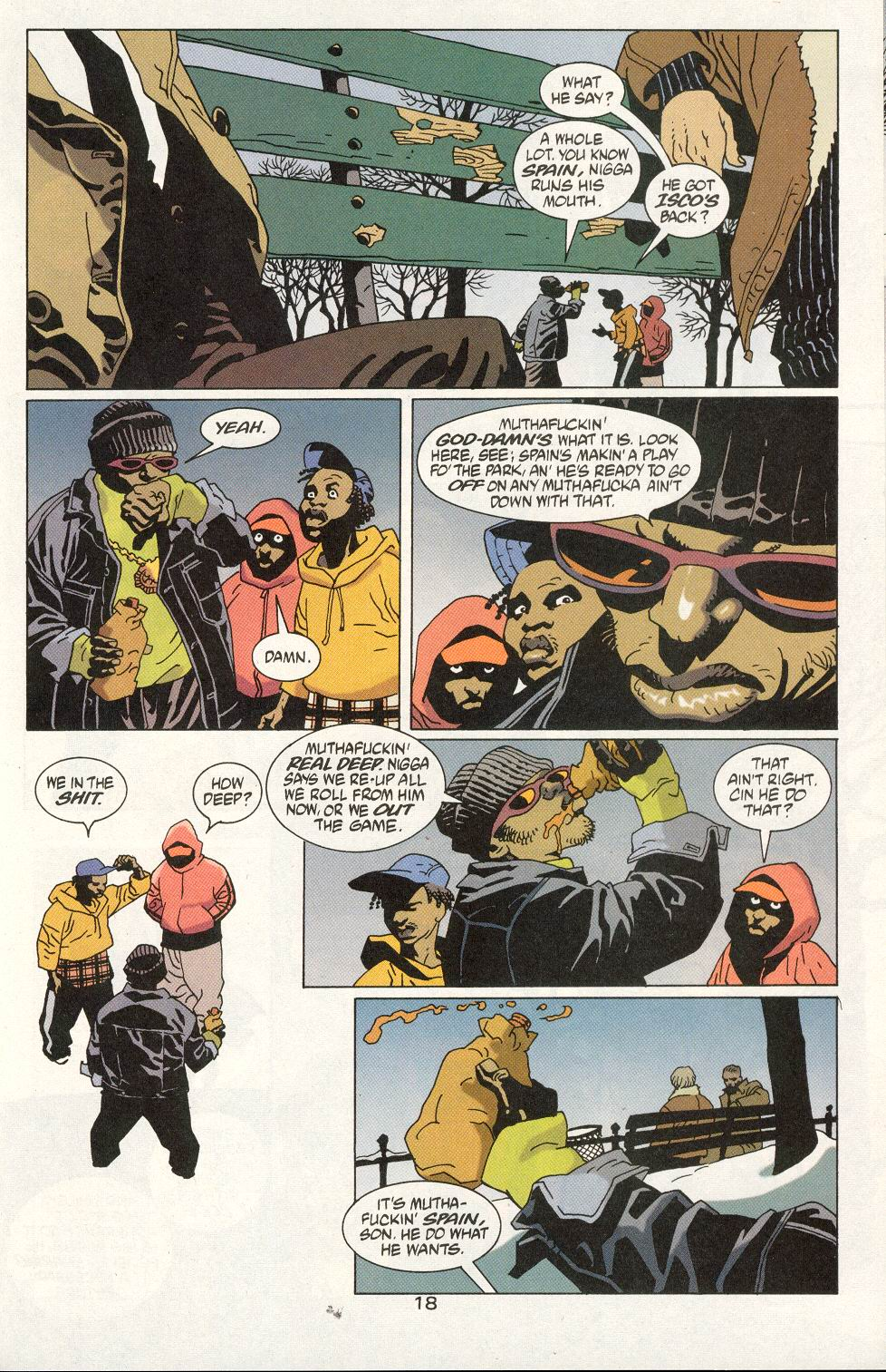Read online 100 Bullets comic -  Issue #20 - 20