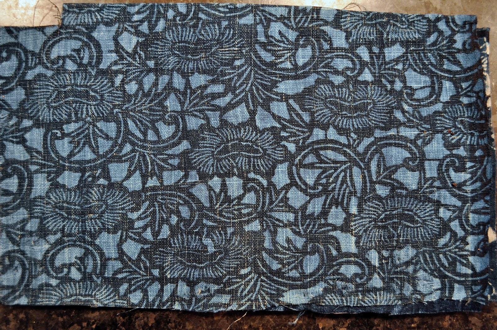 Wonkyworld Japanese Indigo Katazome Fabric Book