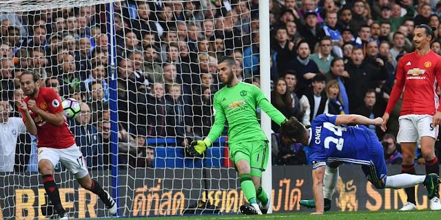 Hasil Liga Inggris 2016 Pekan 9 - Chelsea bungkam Manchester United 4-0