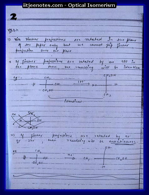 Optical Isomerism 2