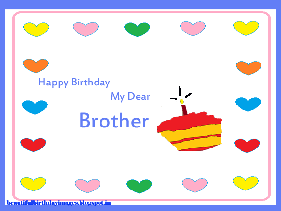 image on happy birthday  my dear brother