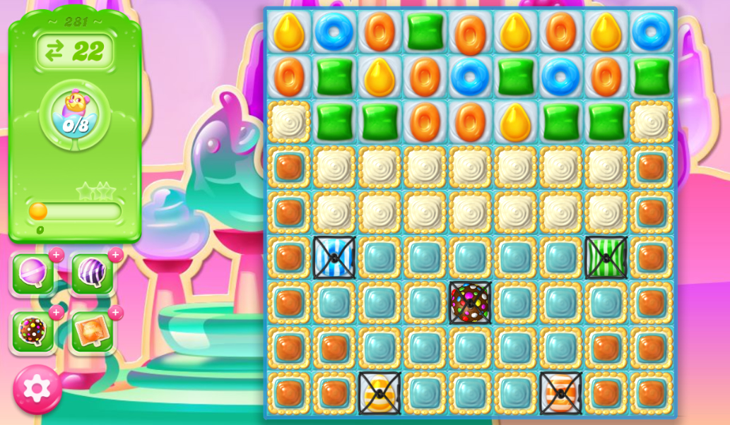 Candy Crush Jelly Saga 281