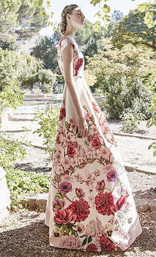 vestido largo estampado primavera verano Dolores Promesas Heaven