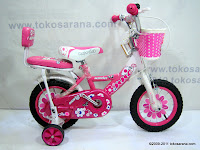 A 12 Inch NNC Novia Kids Bike