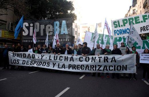 Las CTA de Argentina van a paro contra políticas de Macri