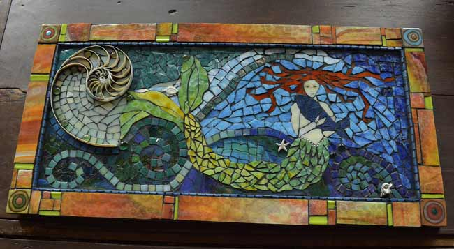 Patterns For Mosaics On Pinterest Mosaic Tables Mosaic