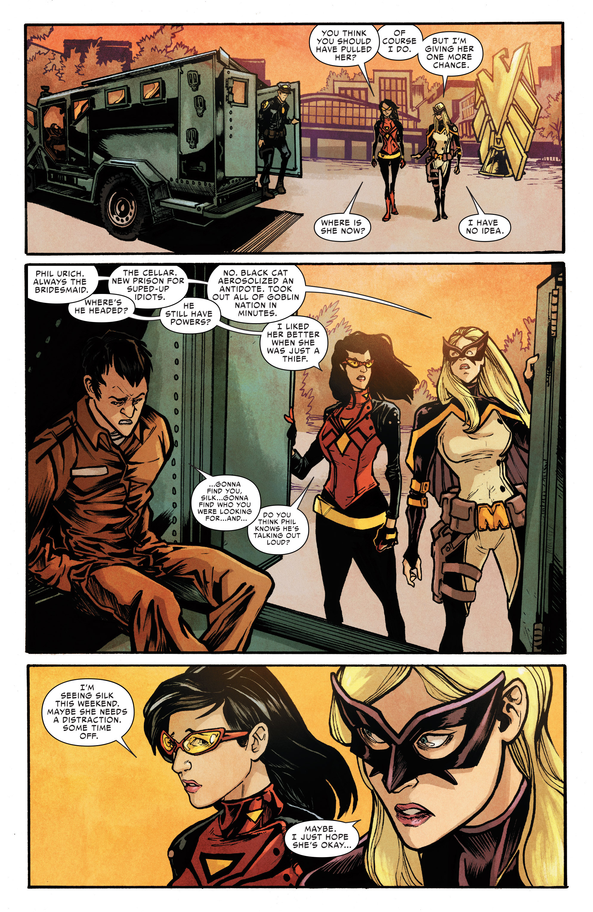 Read online Silk (2016) comic -  Issue #6 - 21