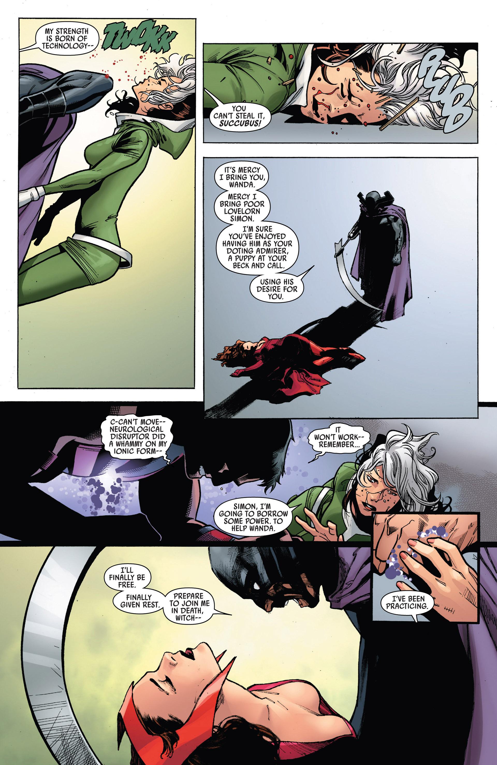 Read online Uncanny Avengers (2012) comic -  Issue #5 - 21