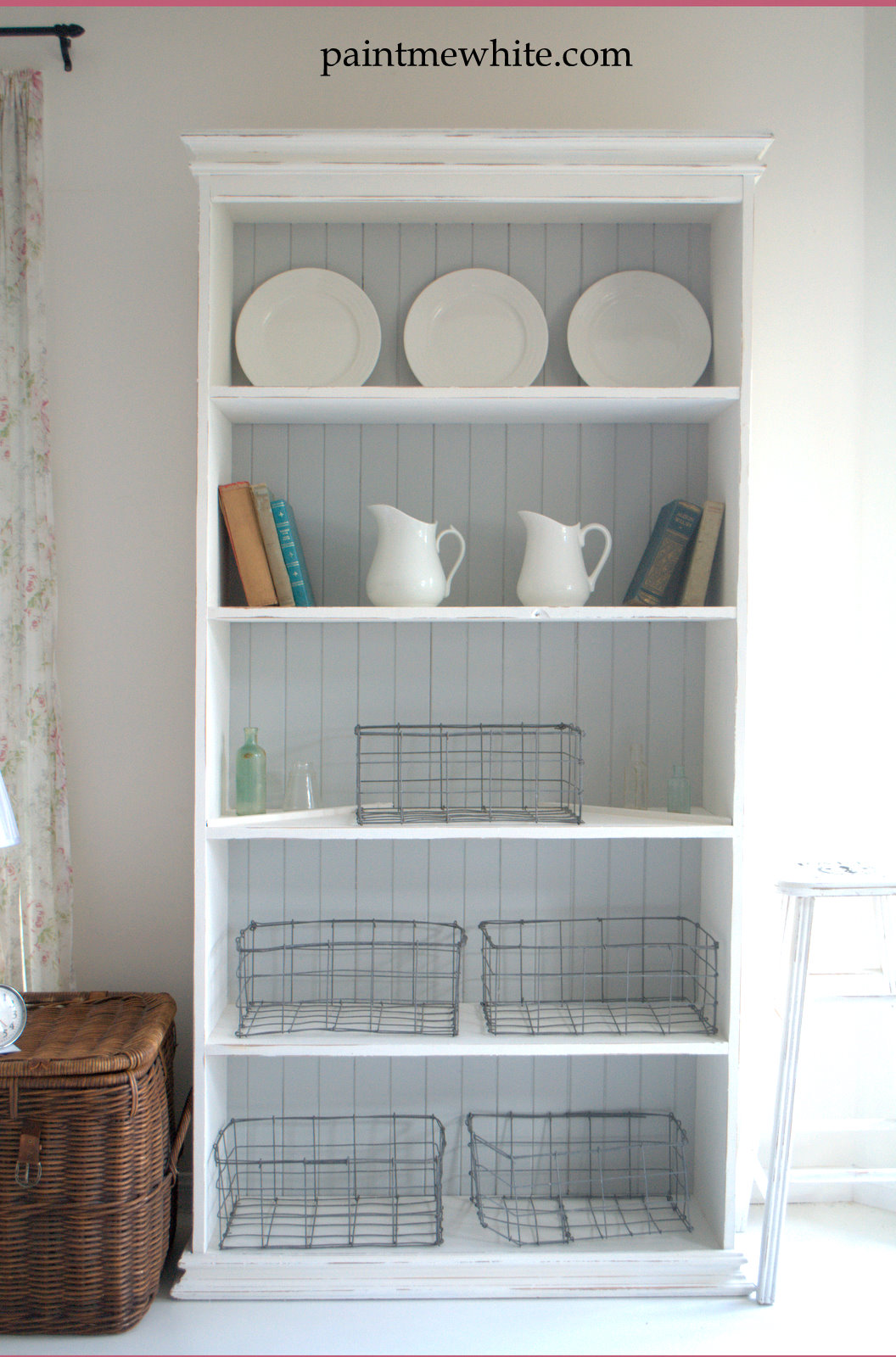 French Provincial Bookcase Paint Me White