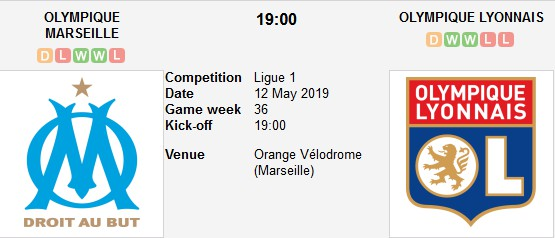 marseille vs lyon live