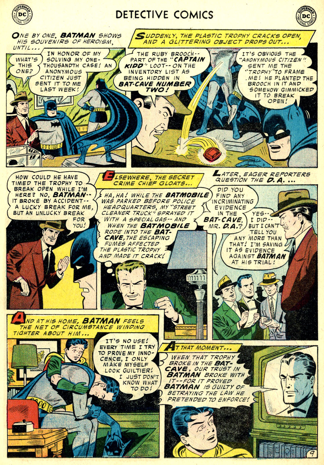 Read online Detective Comics (1937) comic -  Issue #240 - 11