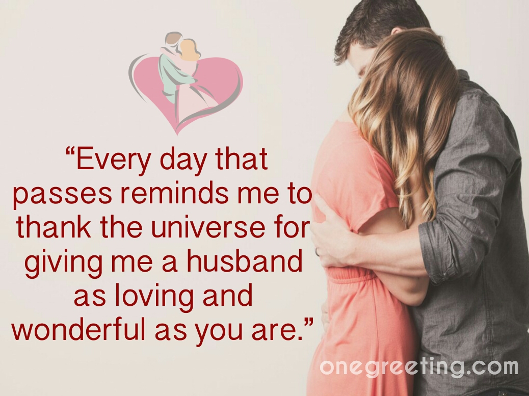 Husband And Wife Romantic Messages One Greeting