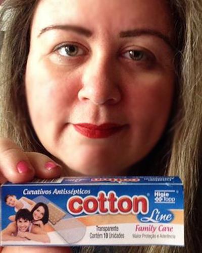Cotton Line Curativos Antissépticos Transparente: eu testei