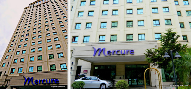 Fachada do Hotel Mercure Pinheiros, São Paulo