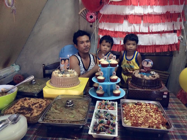 My Twins' 2nd Birthday