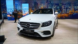 Mẫu xe E350 AMG tại triển lãm Mercedes-Benz Fascination 2019