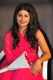 Actress Raj Shri Poonnappa Stills in Pink Dress at Mental Police Trailer Launch BollywoodGossip 0001.JPG