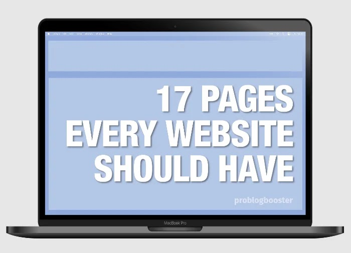 Pages Every Website Should Have