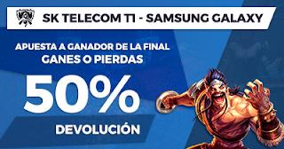 Paston promocion SK Telecom T1 vs Samsung Galaxy 4 noviembre