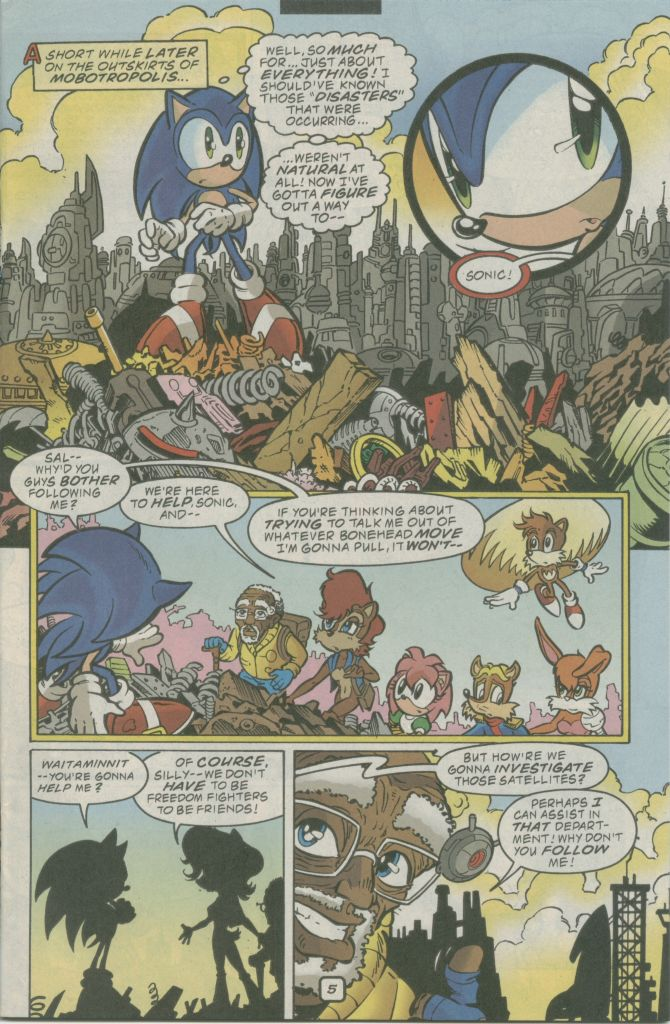 Read online Sonic The Hedgehog comic -  Issue #74 - 7